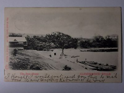 K428 - 1904 The Boat House - LLANDRINDOD WELLS Postcard