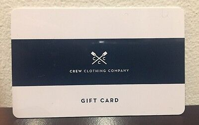 Crew Clothing £40 Gift Card
