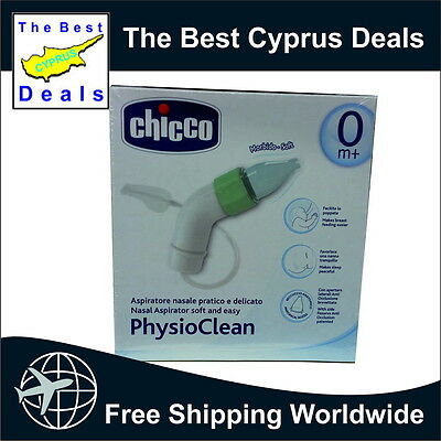 Chicco PhysioClean, Nasal Aspirator soft and easy