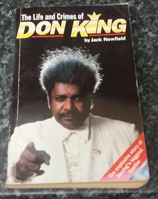 The Life and Crimes of Don King by Jack Newfield (Paperback, 1996)