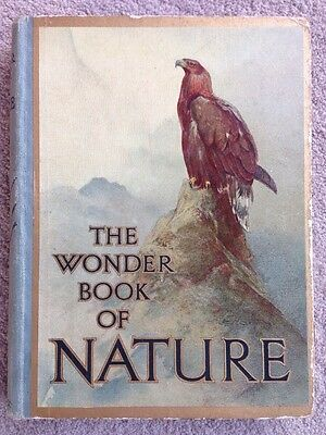 The Wonder Book Of Nature Book For Boys And Girls Vintage Collector's Item