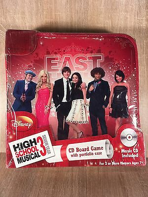 High School Musical 3 CD Board Game With Portfolio Case Brand New