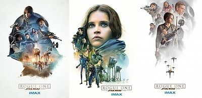 STAR WARS Rogue One imax posters 1,2,& 3 PLEASE READ TEXT