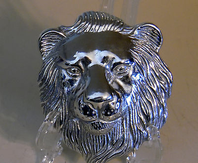 Arthur Court Lion Head Paper Weight New In Box W/papers