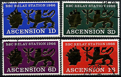 Ascension Is. 1966 SG#103-6 BBC Relay Station Cto Used Set #D42196