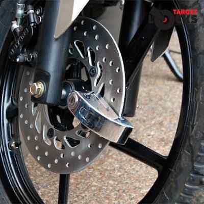 Target Alarmed Motorbike Disc Lock With Free Handy Pouch - Motorcycle Security