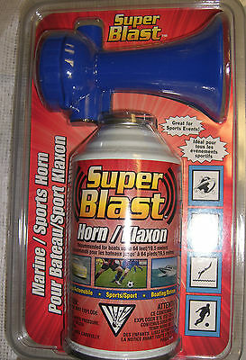 BOAT MARINE Safety Sports HAND HELD AIR HORN Large 8oz up to Mile range  USCG