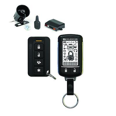 Silencer Sl-72  2-Way 5-Channel 915 Mhz Remote Start Security System