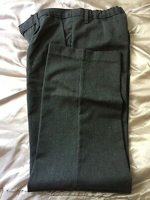 Marks And Spencer Grey Boys School Uniform Trousers