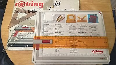 ROTRING (RAPID) -  A3 Archetectural / Business / Design DRAWING BOARD IN BOX