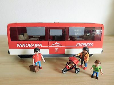 Playmobil Panorama Express Personenwagen / Waggon 4124 für RC Train