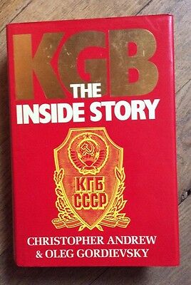 KGB The Inside Story by Christopher Andrew and Oleg Gordievsky - Hardback
