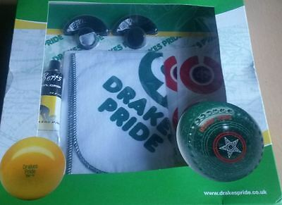Drakes Pride Deluxe Bowls Boxed Gift Pack  - GIFT1 - Bowling Bowlers Present