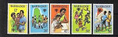Barbados.year Of The Child 1979 Mnh