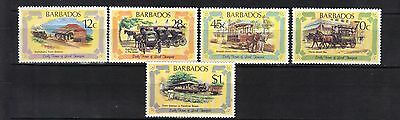 Barbados.early Transport 1981 Mnh