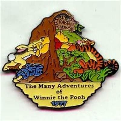 MANY ADVENTURES POOH TIGGER COUNTDOWN To THE MILLENNIUM #34 Disney PIN NEW NIP