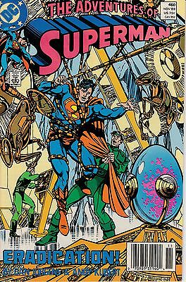 """Adv. Of Superman  #460 - """"be It Ever So Deadly"""" - November 1989"""