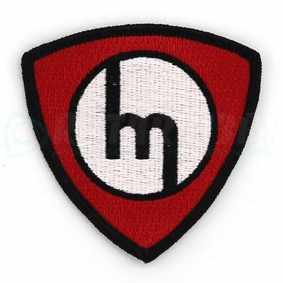 M ROTOR PATCH - RED with Black Details - RX7 RX8 RX2 RX3 RX4 12A 13B 20B 10A
