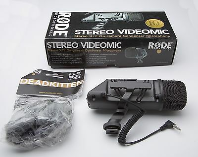 Rode Stereo Video Mic,  microphone, video, stereo Rode, Röde,
