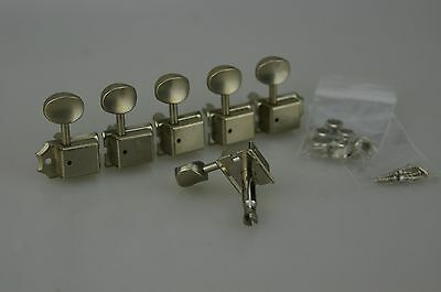 Fender Deluxe Series Big Block Telecaster TUNERS Tuning Pegs Chrome MIM 9888