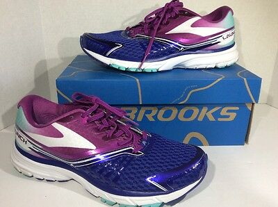 Brooks Launch 2 Women's Size 9 Blue / Berry Running Training Shoes ZD-119