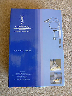 Led Work Light Diy Bbq Workbench Bedside Study Bnib