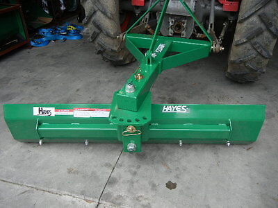 Hayes Tractor Grader Blade Medium Duty Swing And Tilt 5Ft - 3 Point Linkage 3Pl