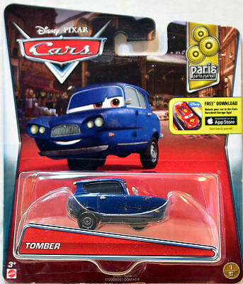 Disney Pixar Cars 2016 Tomber Paris Parts Market   DHJ57