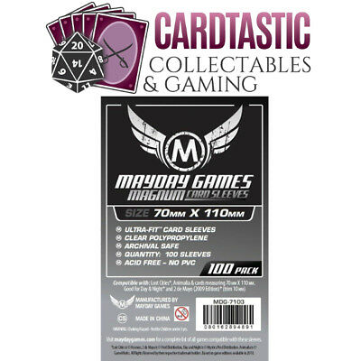 Mayday Games Magnum Sleeves 70x110mm