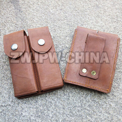 Vintage China Army Surplus Type 59 Makarov 2 Cell Clip Package Ammo Pouch Bag