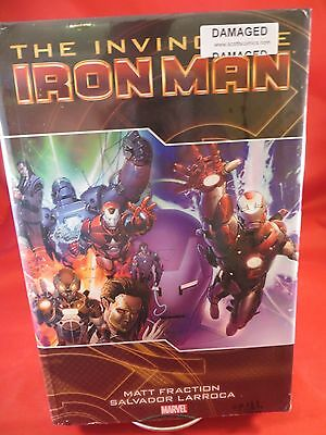 *INVINCIBLE IRON MAN Deluxe Vol 2 HC Hardcover $34.99 SRP Fraction SEALED Ding