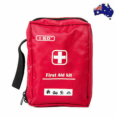First Aid Kit Bag Home Small Emergency Medical Survival Rescue Box