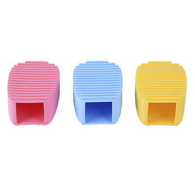 NEW Silicone Makeup Brush Cleaner Board Washing Scrubber Cosmetic Cleaning Tool