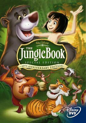 The Jungle Book : 40th Anniversary 2 Disc Platinum Edition [1967]... - DVD  NSVG