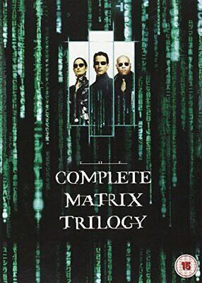 Complete Matrix Trilogy [Blu-ray] [1999] [Region Free] - DVD  YEVG The Cheap