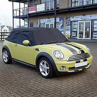Mini Convertible Tailored Soft Top Roof Half Cover 2004 -