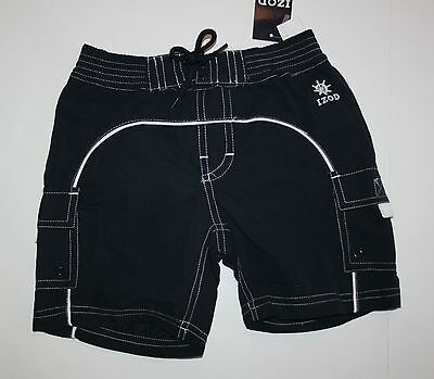NEW IZOD Navy Blue Swimsuit Trunks size 24 months NWT Cargo Pockets