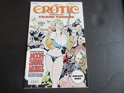 The Erotic Worlds of Frank Thorne #3 (Dec 1990, Fantagraphics Books) Very Rare!