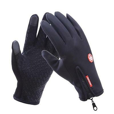Adult Thermal Cycling Snow Skiing Gloves Water Resistant TouchScreen Winter Warm