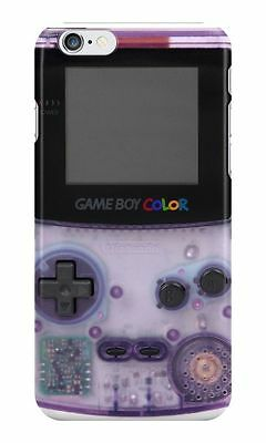 New Game Boy Color Purple For iPhone 5c 5 5s 6 6s Plus  Hard Case