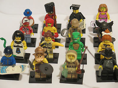 LEGO COLLECTIBLE MINIFIGURES SERIES 5 RARE LOT - complete set