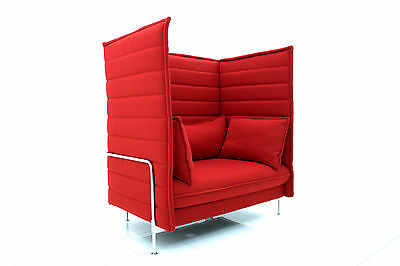 Ronan & Erwan Bouroullec Alcove high back loveseat Vitra, 2006 Sofa Lounge Chair