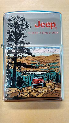 Zippo - Jeep - There´s Only One - Rare 1997