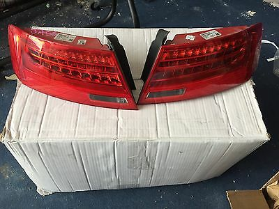 Audi A5 S5 RS5 Facelift Tail lights LED Tube 2012 2013 2014 Pair