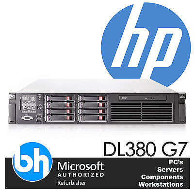 HP ProLiant DL380 G7 Twin Quad Core Xeon X5560 2.66GHz 48GB DDR3 RAM 4 x 146GB