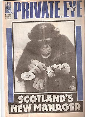 Private Eye Mag # 430 9 June 1978 Ally Macleod Scotland FIFA World Cup Argentina