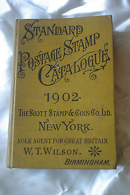 1902 Standard Postage Stamp Catalogue - Scott Stamp & Coin Co