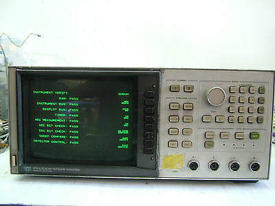 HP 8757A Scalar Network Analyzer 0pt 001  Fully Tested