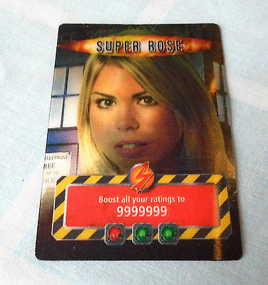 Battles In Time Super Rose Infinite Card (2007) Doctor Who