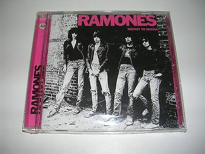 "RAMONES ""Rocket to Russia"" US CD bonus tracks sealed"
